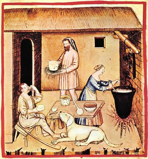 Alimentation au Moyen Age : le fromage de brebis