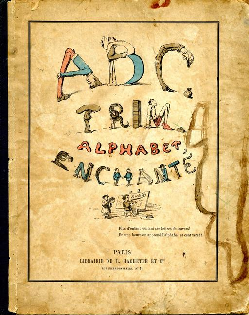 Alphabet enchanté, couverture