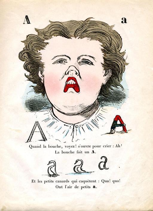 Alphabet enchanté, la lettre A