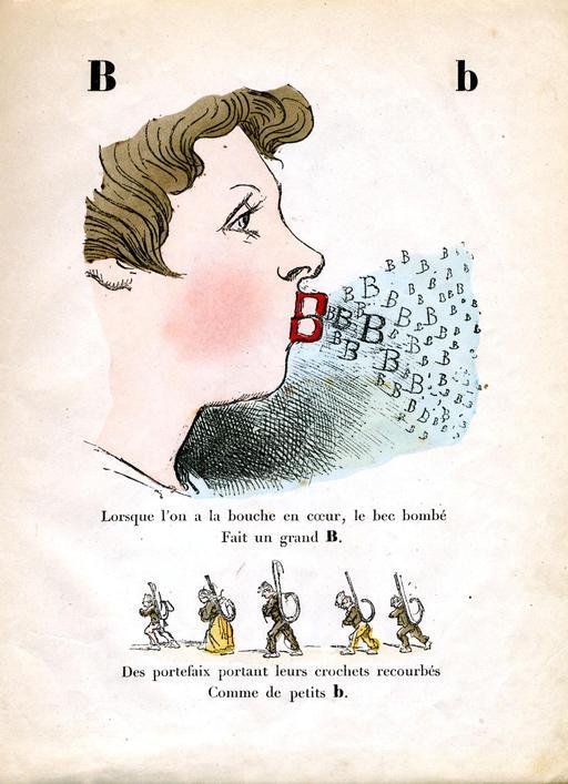 Alphabet enchanté, la lettre B