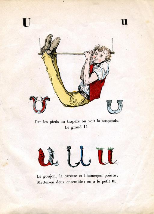Alphabet enchanté, la lettre U