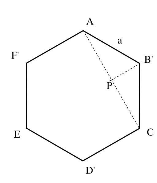 Alvéole hexagonale