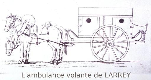 Ambulance du dix-neuvième siècle
