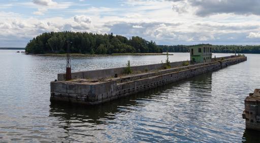 Ancienne base soviétique de sous-marins en Estonie