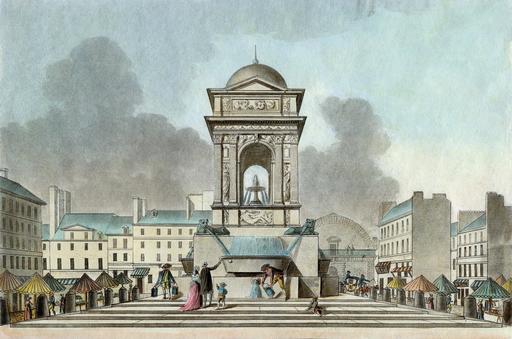 Ancienne fontaine des Innocents en 1808