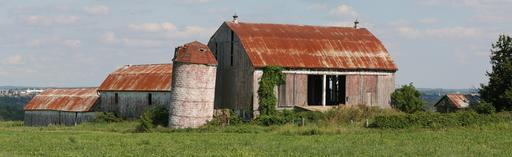 Ancienne grange dans l'Ontario