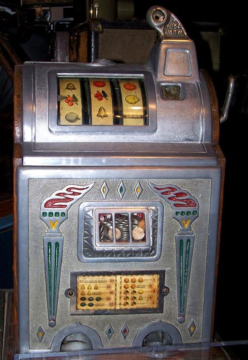Ancienne machine à sous
