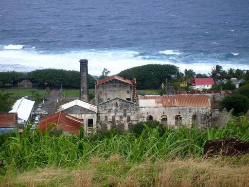 Ancienne usine de Grands-Bois à La Réunion