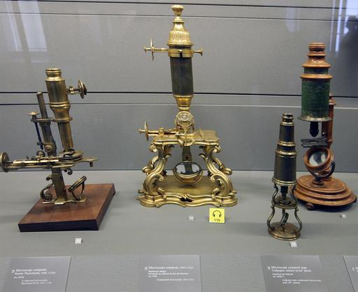 Anciens microscopes