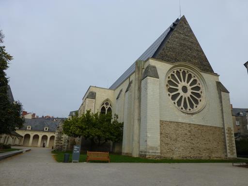 Angers, Abbaye Toussaint vue du sud