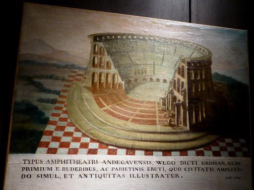 Angers, Amphithéâtre gallo-romain