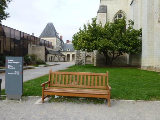 Angers, Jardin du musée des Beaux-Arts