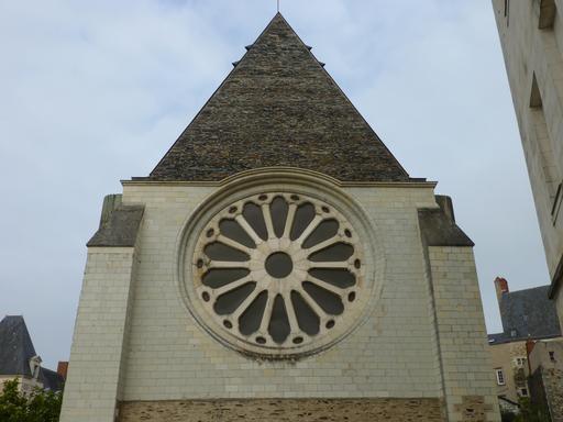 Angers, Rosace de l'Abbaye Toussaint