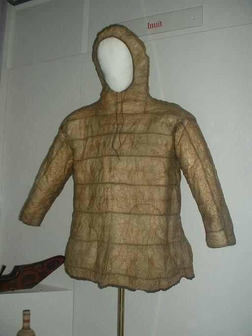 Anorak inuit traditionnel
