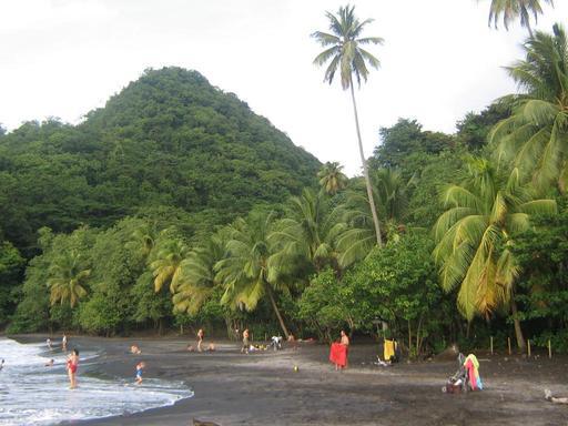 Anse Céron à la Martinique