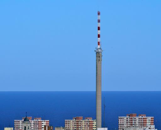 Antenne de Canal 10 et 12 à Montevideo