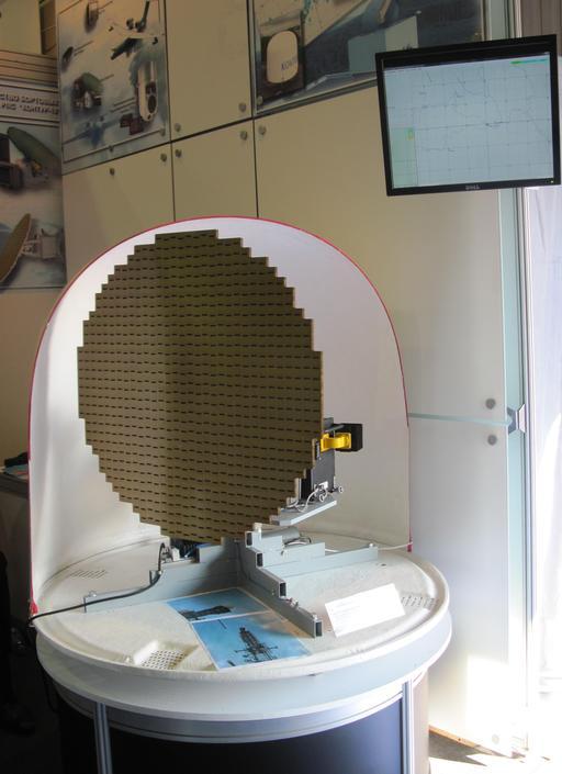 Antenne météorologique d'un radar russe