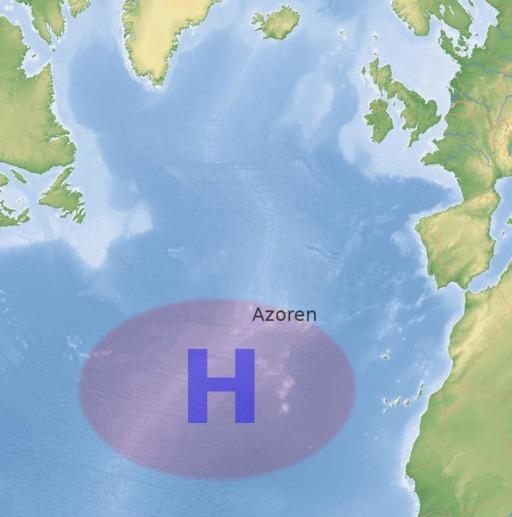 Anticyclone des Açores