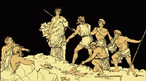 Antigone et le corps de Polynice