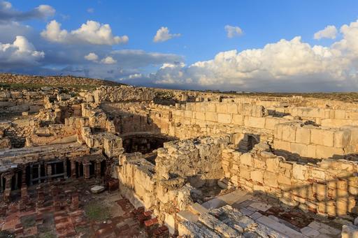 Antiquités de Kourion à Chypre