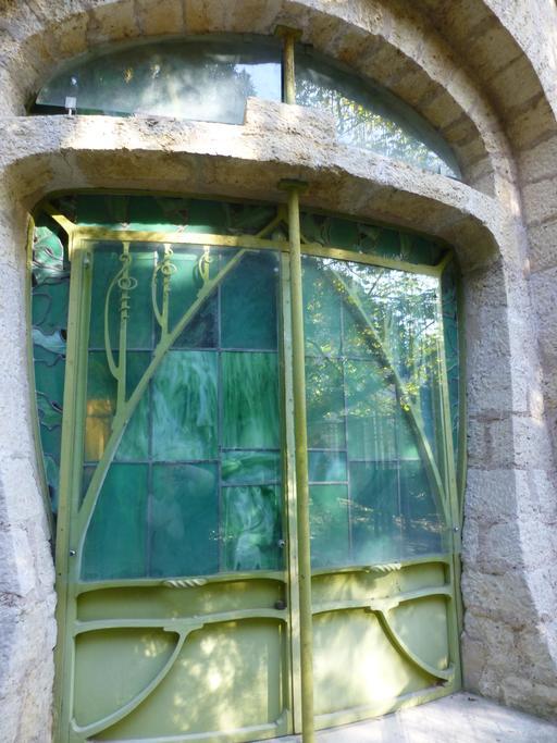 Aquarium dans le jardin du musée de l'école de Nancy
