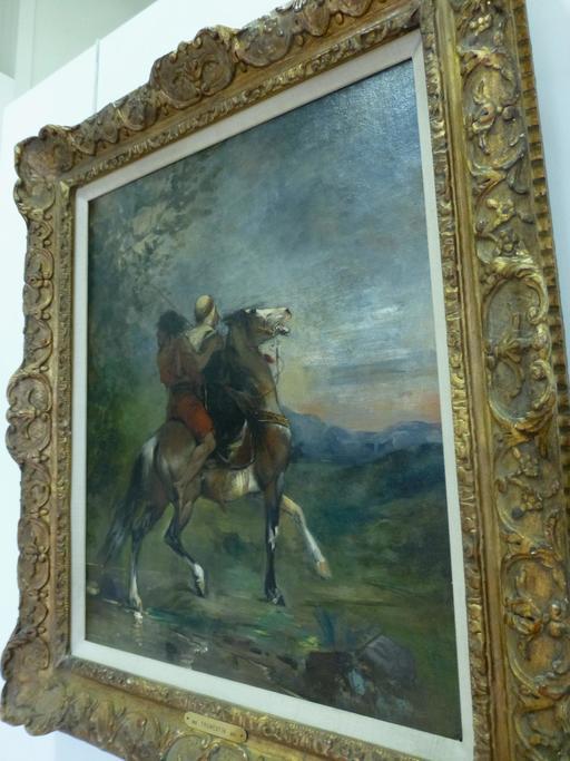 Arabe à cheval par Fromentin