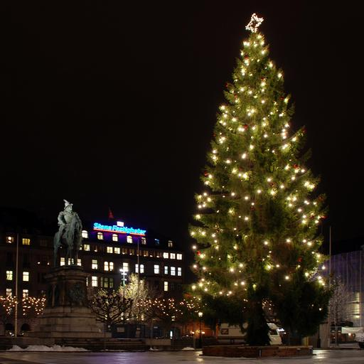 Arbre de Noël suédois