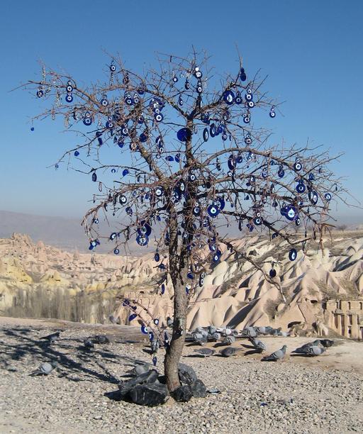 Arbre votif en Cappadoce