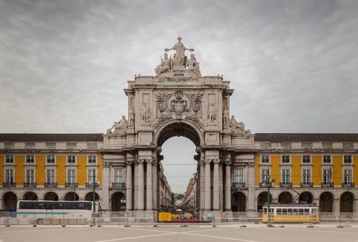 Arc de triomphe à Lisbonne