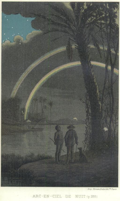Arc-en-ciel de nuit