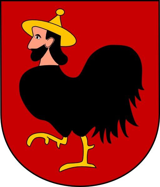 Armoiries d'une ville tchèque