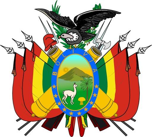 Armoiries de la Bolivie