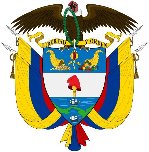 Armoiries de la Colombie