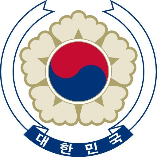 Armoiries de la Corée du Sud