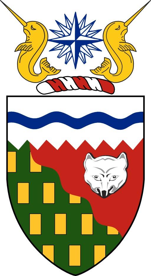 Armoiries des Territoires du Nord-Ouest au Canada