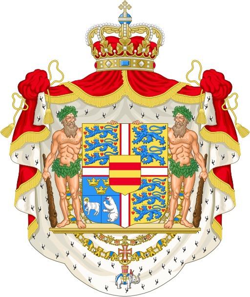 Armoiries royales du Danemark