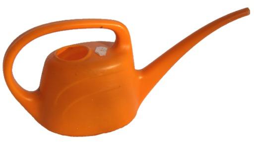 Arrosoir en plastique orange