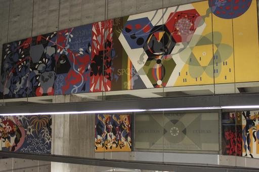 Art contemporain dans le métro de Montréal