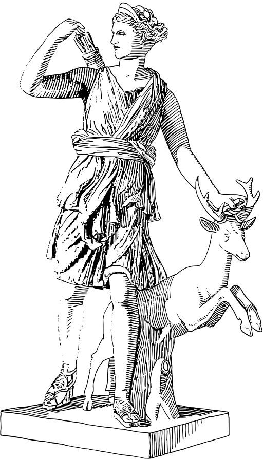 Artémis, déesse de la chasse