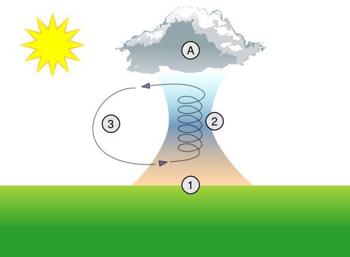 Ascendance thermique