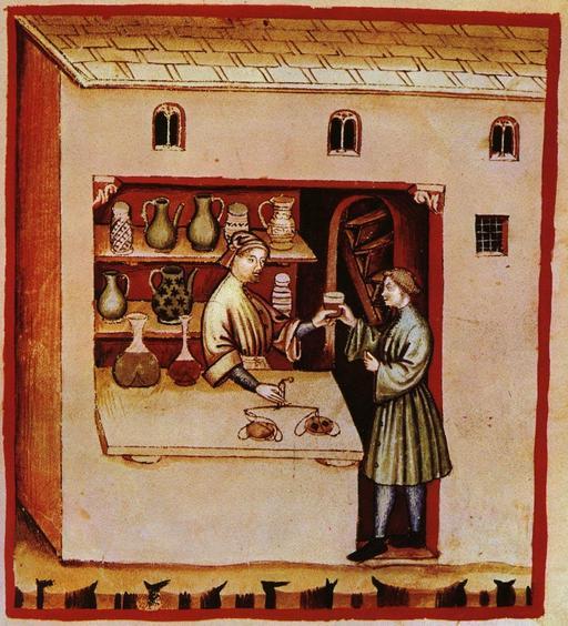 Aspects de la vie quotidienne médiévale : médicaments