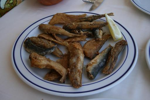Assiette de friture à Valence
