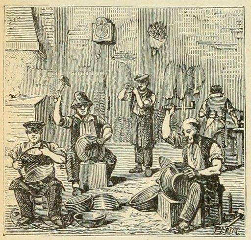 Atelier de chaudronnerie dans le Cantal