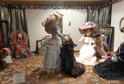 Atelier de couture au musée des automates