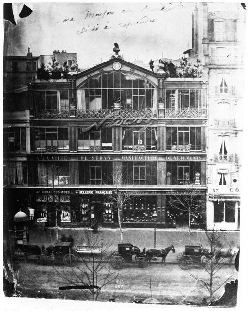 Atelier Nadar à Paris en 1860