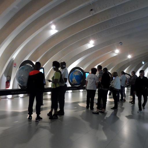 Ateliers interactifs à la Cité du Vin