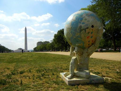 Atlas et le recyclage au National Mall