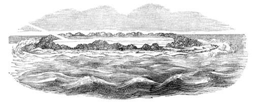 Atoll de l'île de la Pentecôte