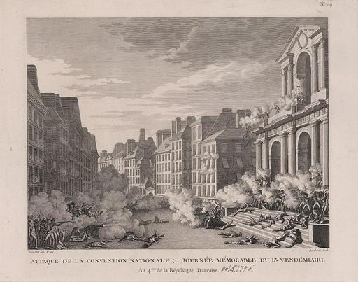 Attaque de la Convention nationale en 1795