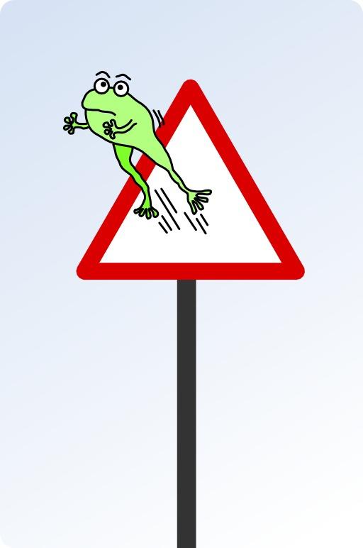 Attention aux grenouilles